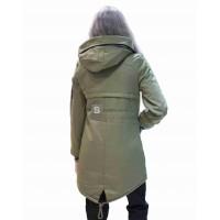 Куртка Женская YLS 12AF1108E5 Khaki